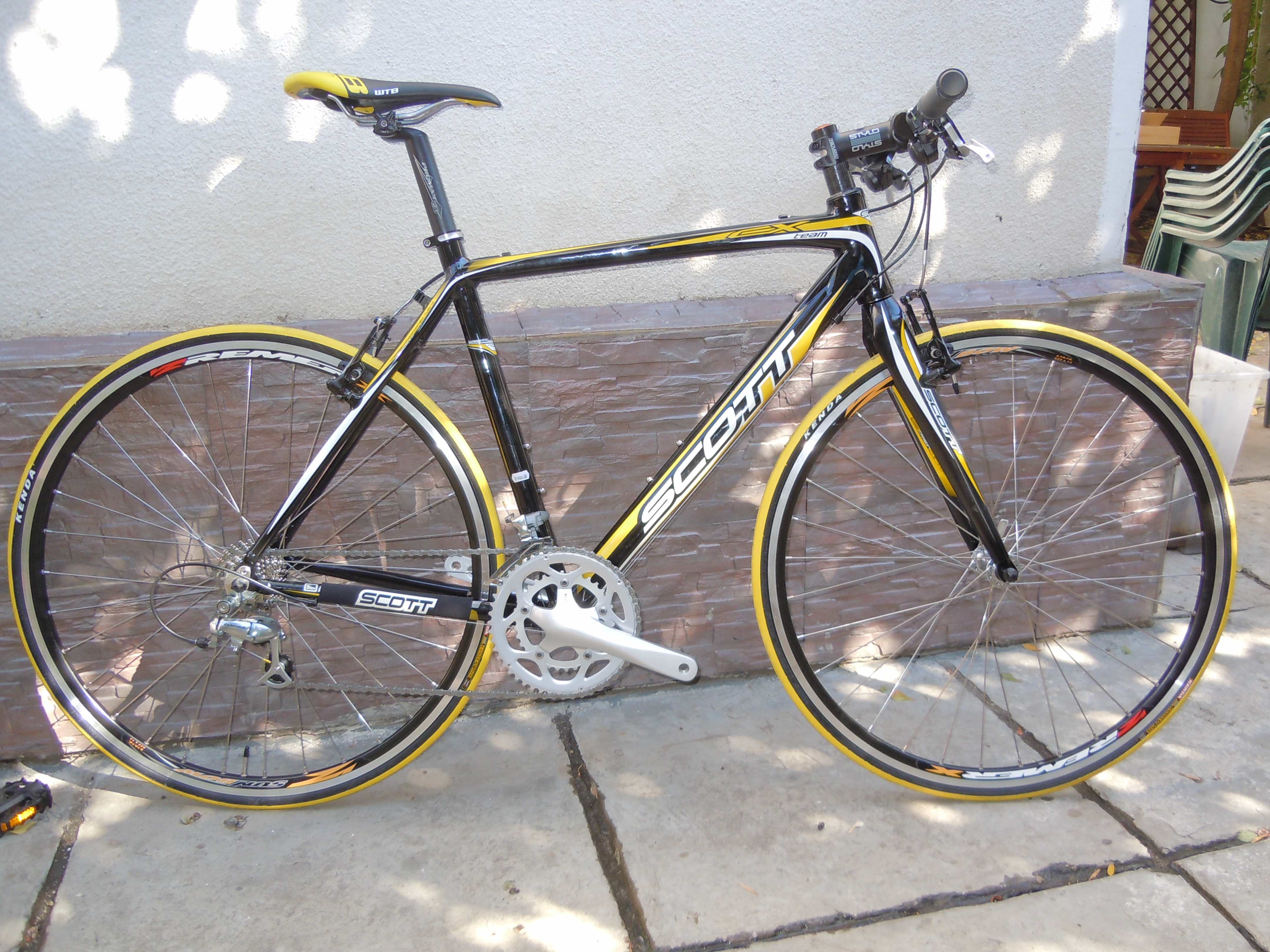Bicicleta custom Scott CX Team(Hybrid)