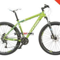 Bicicleta Cross Grx 8M 27,5″ verde