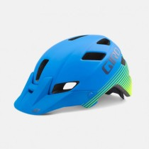 Casca Giro Feature Matte Blue Lime – 2016