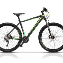Bicicleta Cross Euphoria 27.5″ Negru/Verde – 2017
