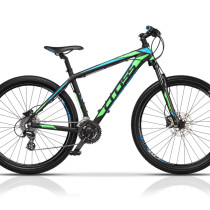 Bicicleta Cross Grx 29″ Negru/Verde/Albastru – 2017