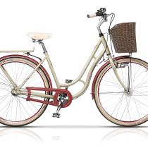 Bicicleta Cross Picnic 28″ Crem/Rosu – 2017