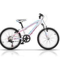 Bicicleta Cross Speedster 20″ Fete Alb/Albastru/Roz – 2017