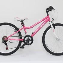Bicicleta Ultra GRAVITA 24″ roz/alb – 2017