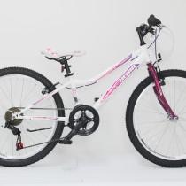Bicicleta Ultra GRAVITA 24″ alb/mov – 2017