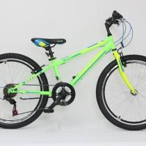 Bicicleta Ultra STORM 24″ verde/galben/albastru