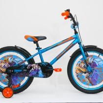 Bicicleta Ultra KIDY 20″ albastru/portocaliu/negru