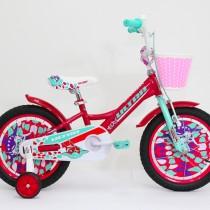 Bicicleta Ultra LARISA 16″ rosu/vernil
