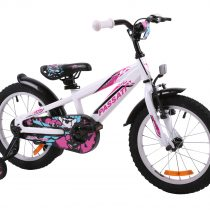 Bicicleta Passati GERALD 20″ aluminiu – alb