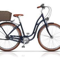 Bicicleta Cross Picnic Pro 28″ Albastru/Maro – 2017