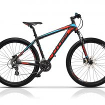 Bicicleta Cross Grx 29″ Negru/Rosu/Albastru